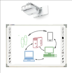 Qomo, 88, 6-Point, Interactive, Whiteboard, +, Epson, Bright, Projector,