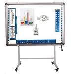 SG, DA, Series, Interactive, Whiteboard, Stand, with, Projector, Arm,
