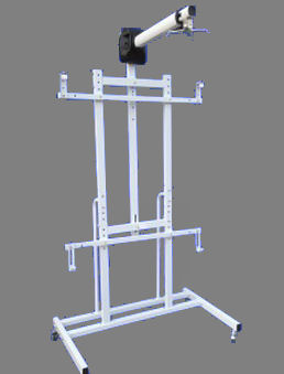 SG, HT, Series, Interactive, Whiteboard, Stand, with, Projector, Arm,