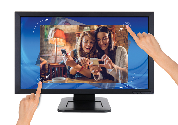 Viewsonic, TD2421, 24, 10-PT, Touch, Full, HD, LED, Monitor,