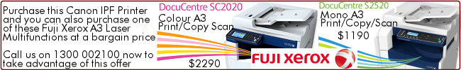 Special Deal on Fuji Xerox SC2020 and S2520