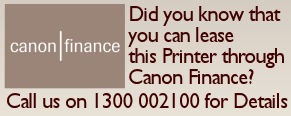 Canon Finance