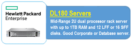 HPE DL 180 Servers
