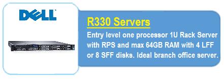 Dell R330 Servers