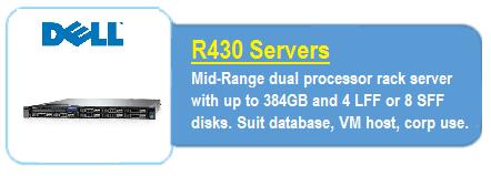 Dell R430 Servers