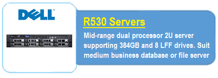 Dell R530 Servers