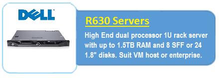 Dell R630 Servers