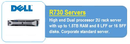 Dell R730 Servers