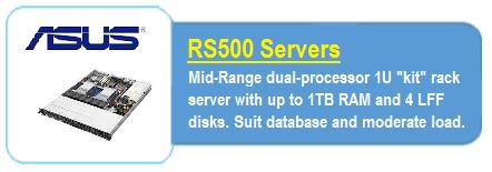 Asus RS500 Servers
