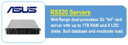 Asus RS520 Servers
