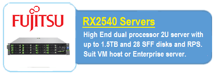 Fujitsu RX2540 Servers