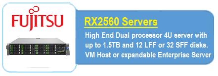 Fujitsu RX2560 Servers