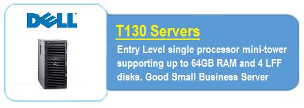 Dell T130 Servers