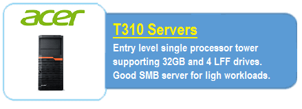 Acer T310 Servers