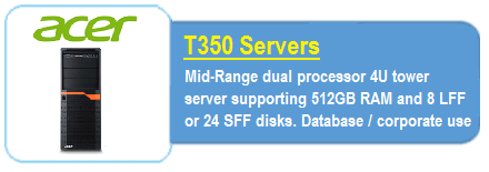 Acer T350 Servers