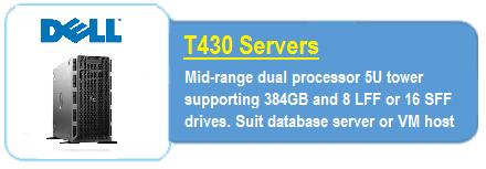 Dell T430 Servers