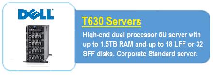 Dell T630 Servers
