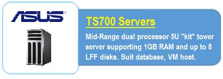 Asus TS700 Servers