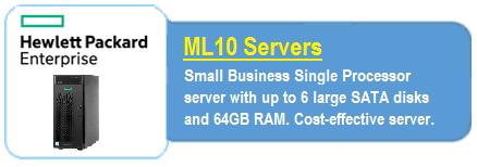 HPE ML 10 Servers