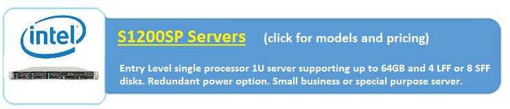 Intel S1200SP  Servers