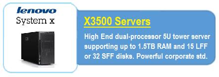 Lenovo X3500 Servers