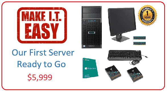 Make IT Easy First Server