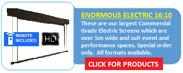 EX Series Enormous Electric Screens