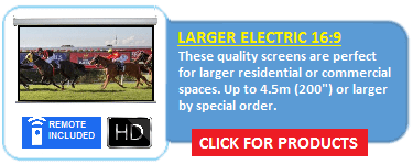 EA Series Large Electric Screens