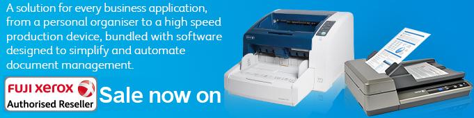 Fuji Xerox Scanners