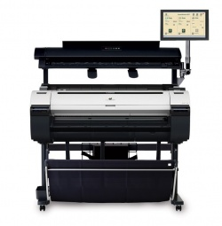 Canon, iPF770MFP, 36, A1, printer, with, 40, CIS, Scanner, Computer, and, Touchscreen,