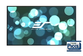 Elite, Screens, AR135DHD3, Aeon, Series, Projector, Screen, 135, Fixed, Frame, 16:9, Edge, Free, CineGrey, 3D, Screen, Material,