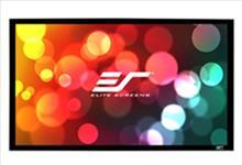 Elite, Screens, ER200WH2, SableFrame, 2, Series, Projector, Screen, 200, Fixed, Frame, 16:9, 6CM, Black, Velvet, Border,