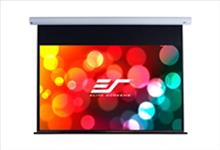 Elite, Saker, Series, 100, (2.15m, wide), 16:10, Electric, Projector, Screen, with, White, Case, and, fiberglass, Maxwhite, surface,