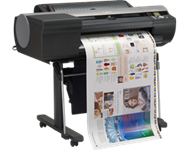 Canon, IPF6450, 24, 12, Colour, Graphic, Arts, A1, printer, with, HDD, and, Stand,