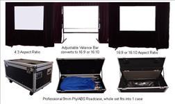SG, V-Series, V180, 12, x9, 4:3, Easyfold, Valance, Drapes,