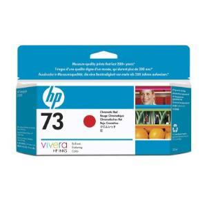 Hewlett-Packard, 73, 130ml, Chromatic, Red, Ink, Cartridge,
