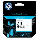 Hewlett-Packard, 711, 80-ml, Black, Ink, Cartridge,