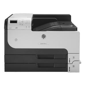 HP, LaserJet, Enterprise, 700, M712DN, Mono, A3, Laser, Printer,