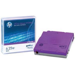 HP, Enterprise, LTO-6, Ultrium, 6.25, TB, BaFe, WORM, Data,