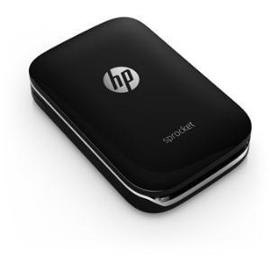 Hewlett-Packard, SPROCKET, PHOTO, PRINTER, (BLACK),