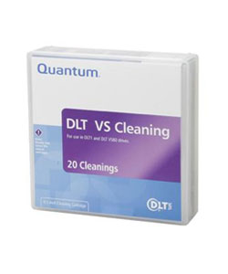 Quantum, VS80, Cleaning, Cartridge, for, VS80, +, DLT1, Drives, (minimum, order, quantity, applies),