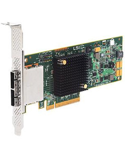 LSI, Logic, SAS, 9207-8e, Bare, Card, PCIe, 6Gb/s, SAS, 8-port,