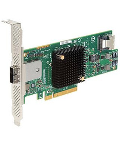 LSI, Logic, SAS, 9207-4i4e, Bare, Card, PCIe, 3.0, x8, 6Gb/s, SAS, 8-port.,