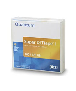 Quantum, SuperDLT, I, Data, Cartridge, 160, /, 320GB, for, SDLT320, Drive, (minimum, order, quantity, applies),