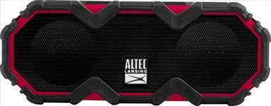 Altec, Lansing, Mini, LifeJacket, Jolt, Black/Red, -, EVERYTHING, PROOF, Rugged, &, waterproof, Bluetooth, speaker, (16, hrs, Batte,
