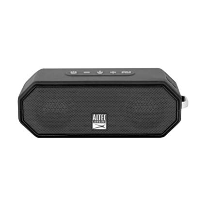Altec, Lansing, Jacket, H20, 4, Black, -, EVERYTHING, PROOF, Rugged, &, waterproof, Bluetooth, speaker, (10, hrs, Battery, /, 2000mAh,