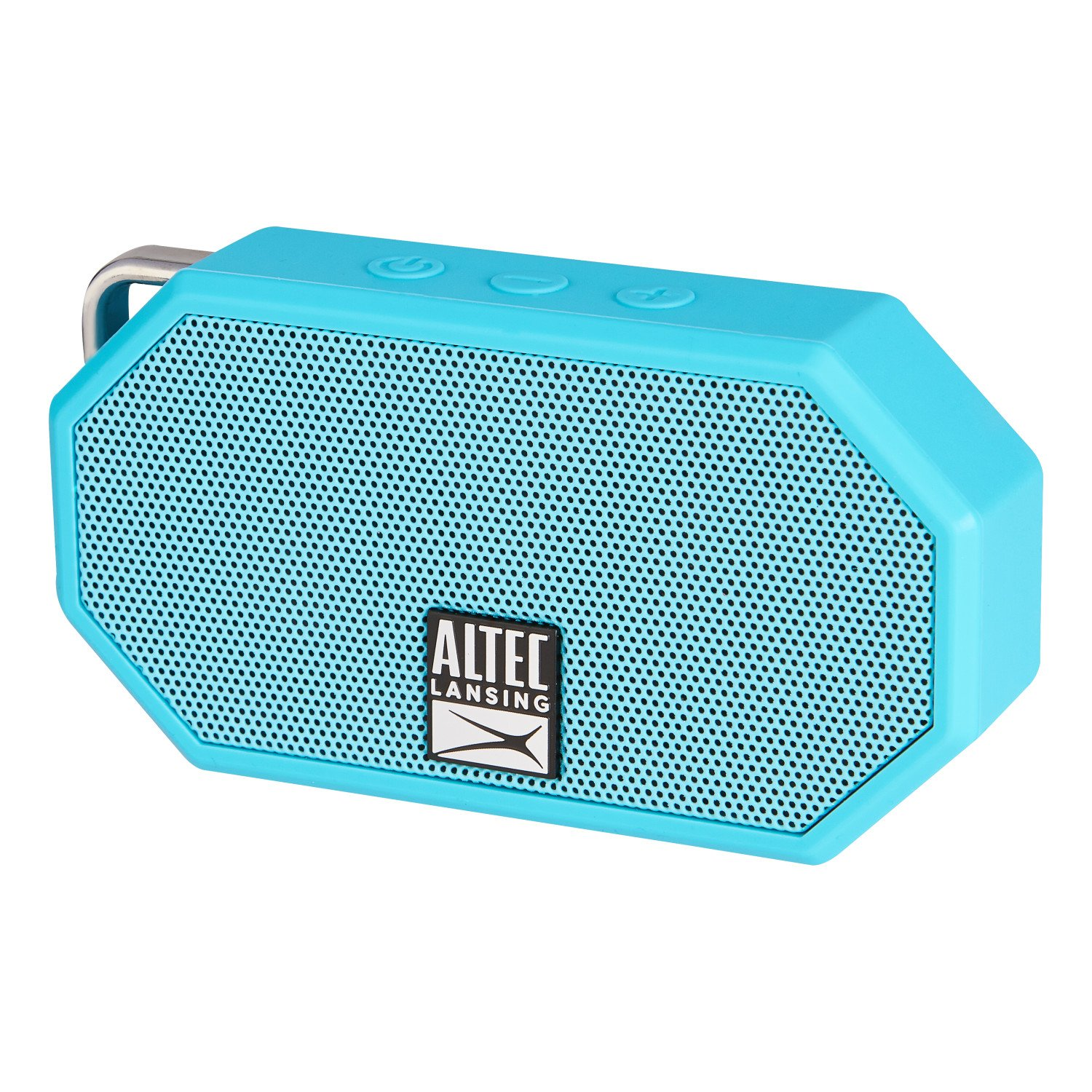 Altec, Lansing, Mini, H20, 3, Aqua, Blue, -, EVERYTHING, PROOF, Rugged, &, waterproof, Bluetooth, speaker, (6, hrs, Battery),