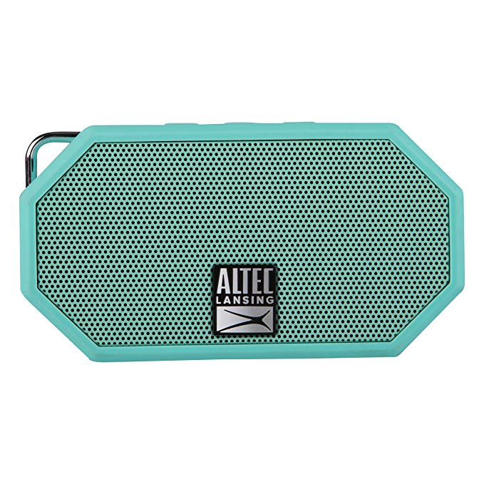 Altec, Lansing, Mini, H20, 3, Mint, Green, -, EVERYTHING, PROOF, Rugged, &, waterproof, Bluetooth, speaker, (6, hrs, Battery),