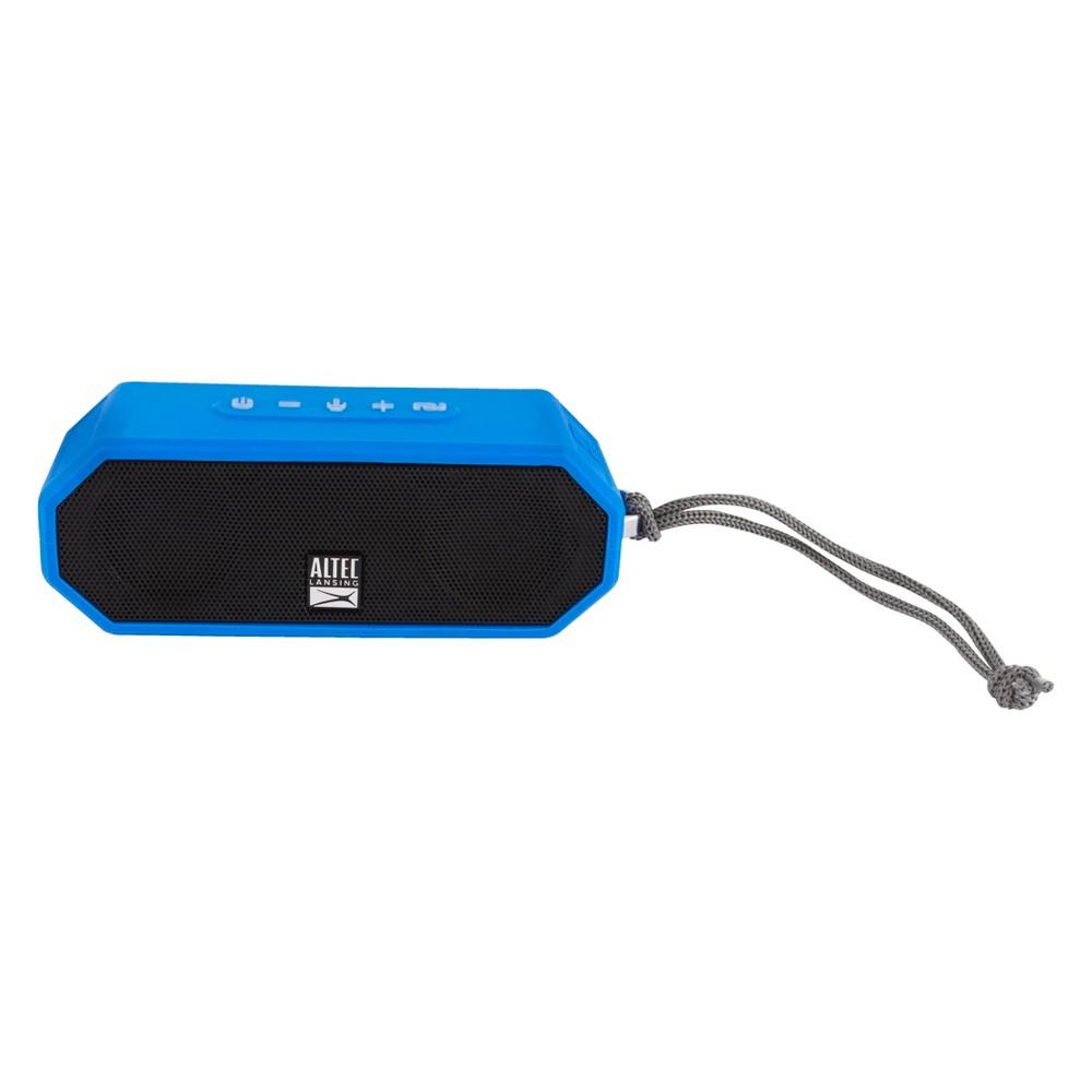 Altec, Lansing, Jacket, H20, 4, Blue, -, EVERYTHING, PROOF, Rugged, &, waterproof, Bluetooth, speaker, (10, hrs, Battery, /, 2000mAh),