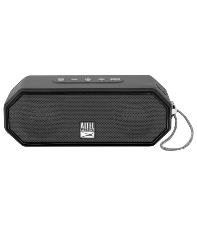 Altec, Lansing, THUNDER, 15, Portable, Battery, powered, PA, speaker, system, (Bluetooth, 20hrs, Battery, Wired, Microphone, Retract,